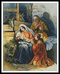 Nativity 2 - Cross Stitch Chart