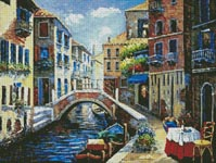 Venetian Lagoon - Cross Stitch Chart