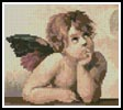 Mini Cherub 1 - Cross Stitch Chart