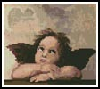 Mini Cherub 2 - Cross Stitch Chart