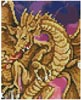 Mini Dragon Battle - Cross Stitch Chart