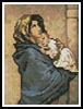 Mini Madonna of the Streets - Cross Stitch Chart