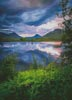 Mini Stac Pollaidh Sunset - Cross Stitch Chart
