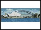 Mini Sydney Harbour in the Day - Cross Stitch Chart