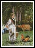Mini The Milkmaid - Cross Stitch Chart