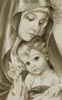Mother of God (Beige) - Cross Stitch Chart