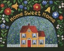 My Pretty Yellow House - Cross Stitch Chart