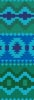 Native Design Bookmark 2 - Cross Stitch Chart