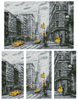 New York Abstract (Large) - Cross Stitch Chart