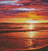 Ocean Sunrise - Cross Stitch Chart