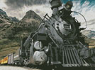 Old Train (Colour) - Cross Stitch Chart