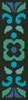 Ornamental Bookmark 4 - Cross Stitch Chart