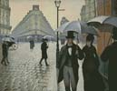 Paris Street, Rainy Day (Large) - Cross Stitch Chart
