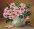 Pink Bouquet - Cross Stitch Chart