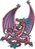 Pink Dragon - Cross Stitch Chart