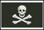 Pirate Flag - Cross Stitch Chart