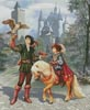 Prince and Falconer - Cross Stitch Chart