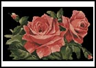 Red Roses 1 - Cross Stitch Chart