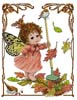 Fairy, Autumn Afternoon - Cross Stitch Chart