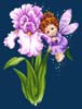 Iris Fairy - Cross Stitch Chart