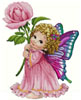 Rose Fairy - Cross Stitch Chart