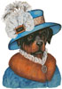 Rottie Madame - Cross Stitch Chart