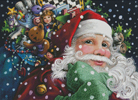 Santa's Toys - Cross Stitch Chart