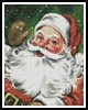 Santa Waving - Cross Stitch Chart