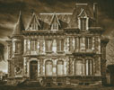 Spooky House - Cross Stitch Chart