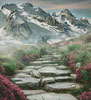 Stairway to the Mountains (Crop) - Cross Stitch Chart