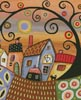 Sunny Day in Town (Crop) - Cross Stitch Chart