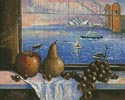 Sydney Harbour Bridge from Lavender Bay - Cross Stitch Chart