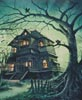 The Haunted House (Crop) - Cross Stitch Chart