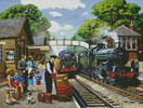 Train to the Coast - Cross Stitch Chart