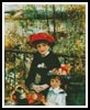 Two sisters on the Terrace - Cross Stitch Chart