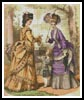 Victorian Fashions 6 - Cross Stitch Chart