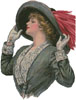 Victorian Hat - Cross Stitch Chart