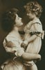 Vintage Mother and Daughter - Cross Stitch Chart