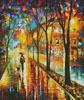 Walk with Dog - Cross Stitch Chart