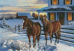 Winter Holiday - Cross Stitch Chart