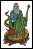 Wizard Dragon - Cross Stitch Chart