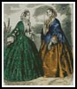 Victorian Fashions 4 - Cross Stitch Chart