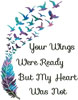 Your Wings (Watercolour) - Cross Stitch Chart